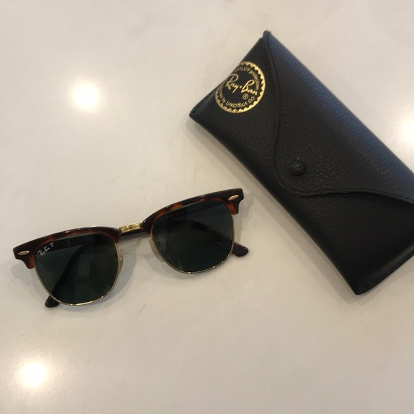 a7b77d79711b7 Ray-Ban Clubmaster Classic Polarized Sunglasses.  M 5ade1d082ab8c5ea299e6dda. Other Accessories ...